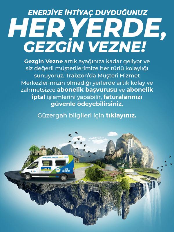 Gezgin Vezne Trabzon